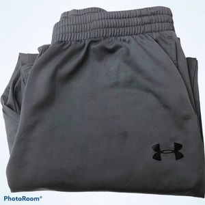 Under Armour Youth Pants Gray 1287694 Relaxed